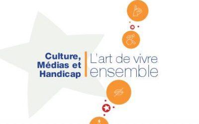 Retrouvez le colloque, Culture, Médias et Handicap : L'art de vivre ensemble, en livret accessible !